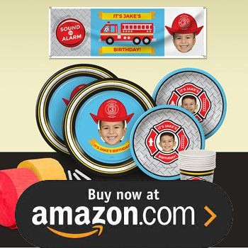 Fire Fighter Truck Party Supplies