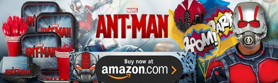Ant Man Party Supplies