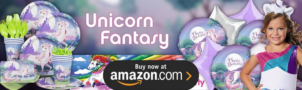 Rainbow Unicorn Pegasus Party Supplies
