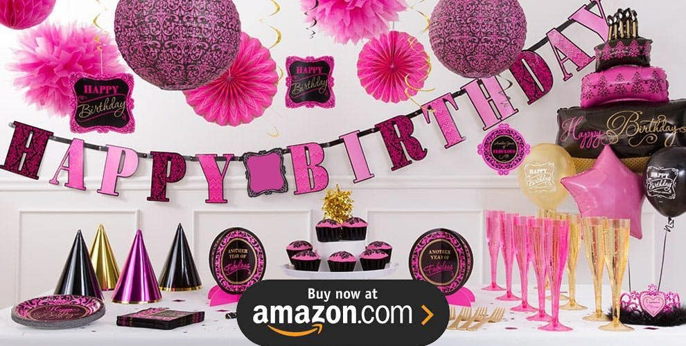 Born To Be Fabulous Party Supplies