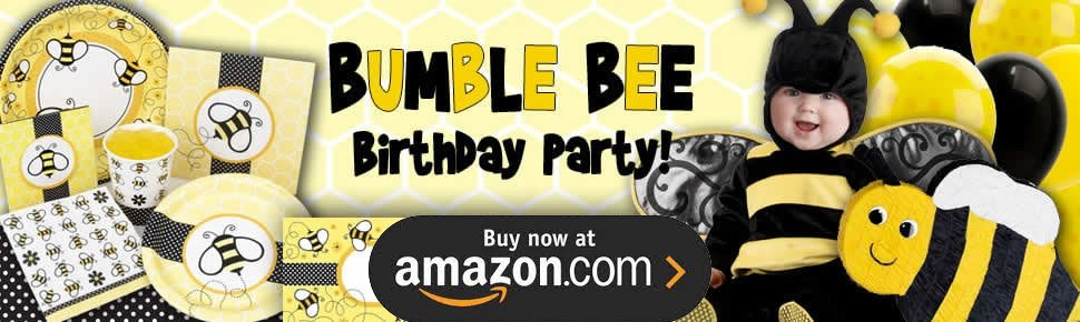 Bumble Bee Party Supplies
