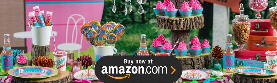 Camp Glam Party Supplies