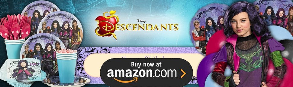 Disney Descendants Party Supplies