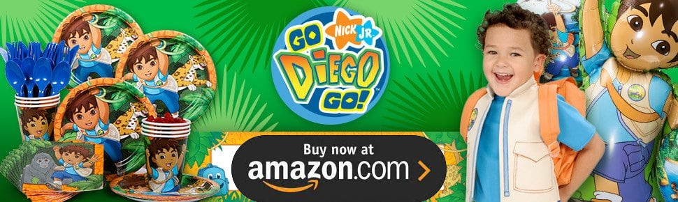 Diego Party Supplies