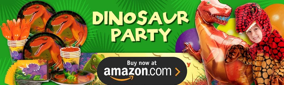 Dinosaurs Personalized Party Supplies