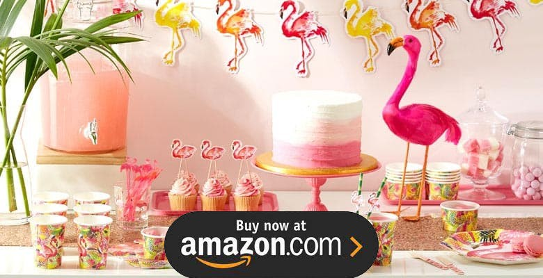 Flamingo And Pineapple Party Supplies