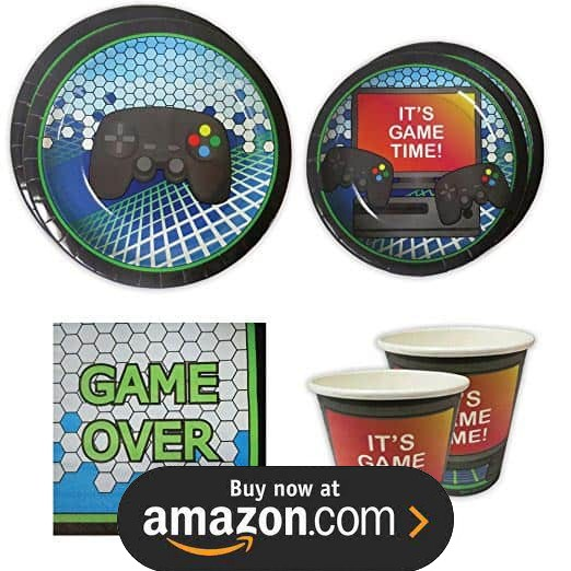 Gamers Game On Party Supplies