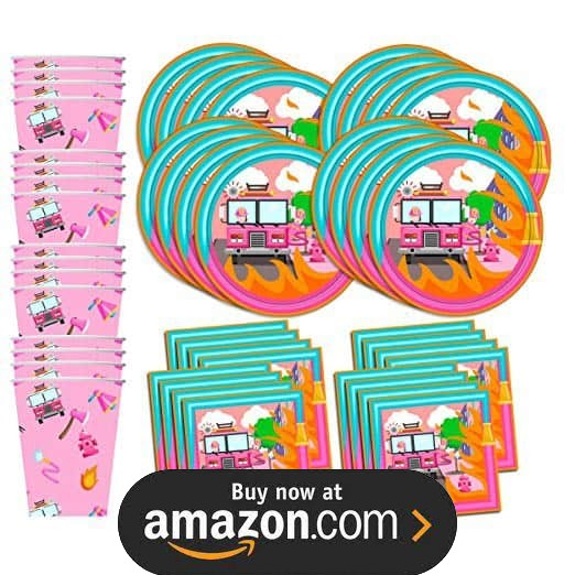 Girl Fire Fighter Party Supplies