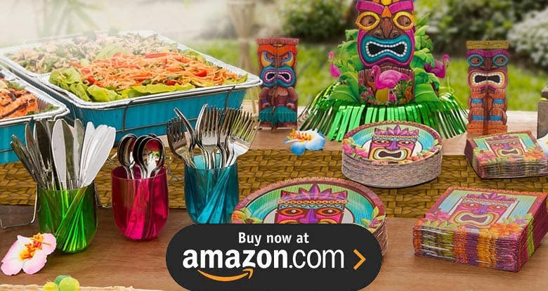 Tiki Luau Party Supplies