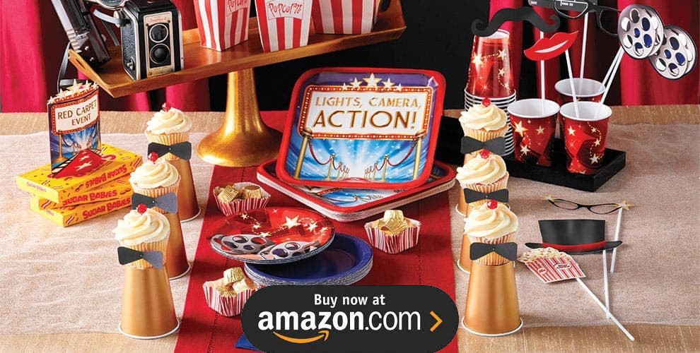 Hollywood Movie Night Party Supplies
