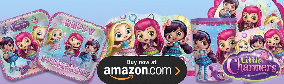 Little Charmers Party Supplies