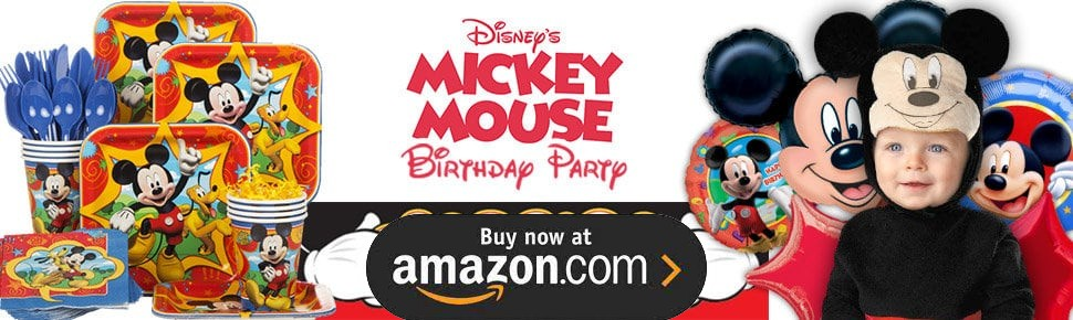 Mickey Fun and Friends Party Supplies