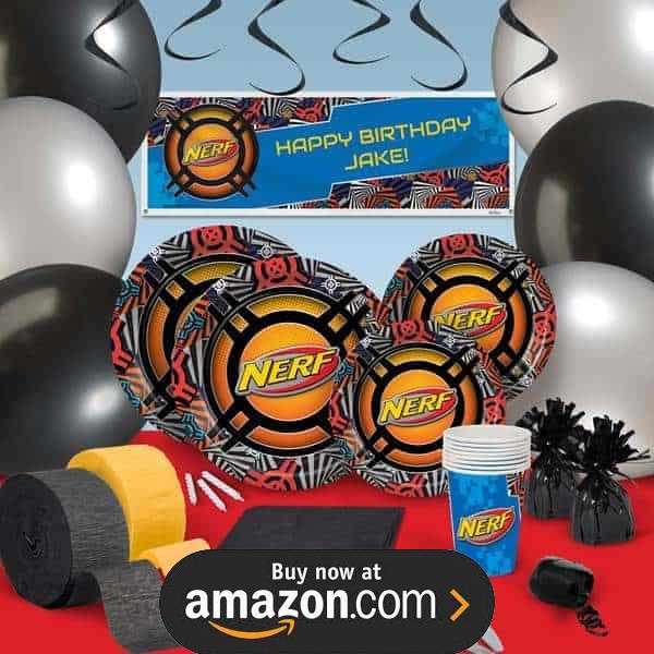 Nerf Party Supplies