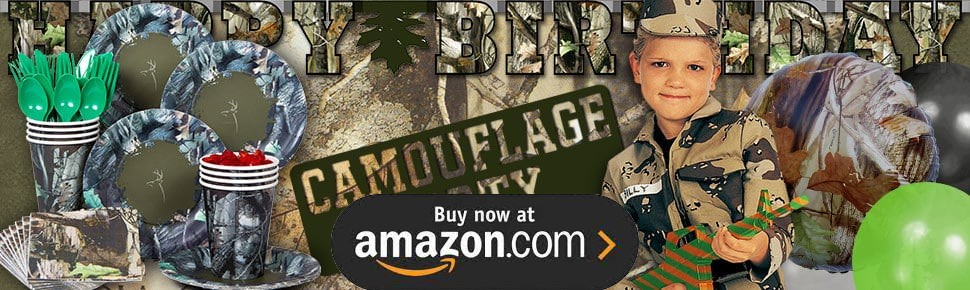 Hunting Camo Party Supplies