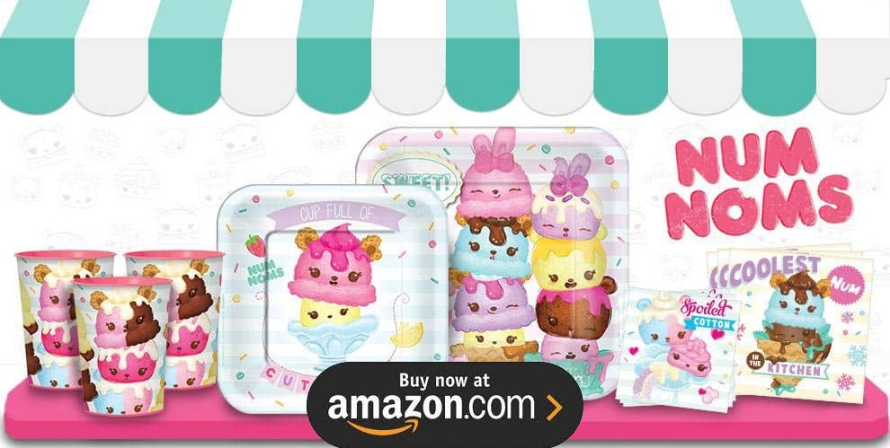 Num Noms Party Supplies