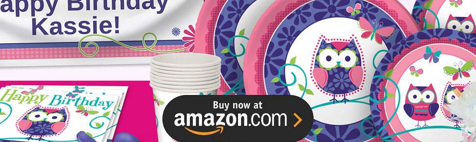 Owl Pal Party Supplies