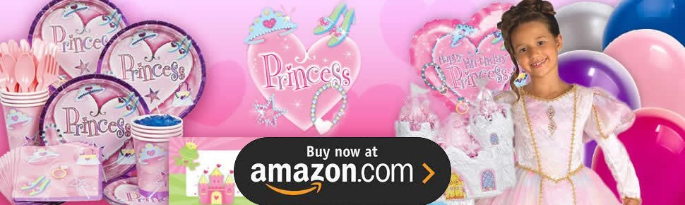 Pink Princess Royalty Party Supplies
