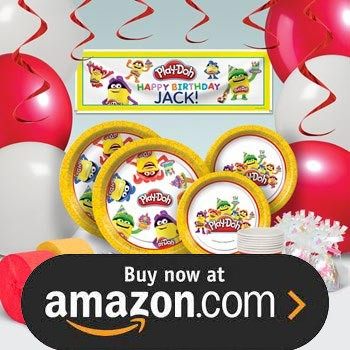 Play Doh Party Supplies