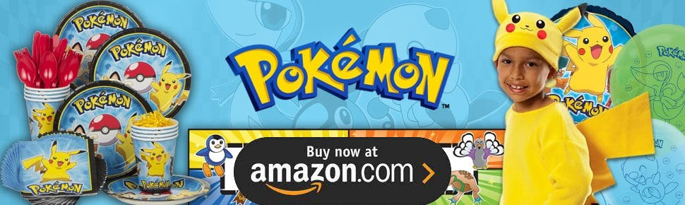 Pikachu and Friends Party Supplies