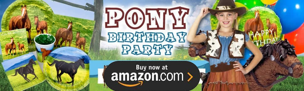 Pony Party Supplies