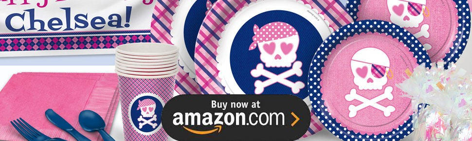 Preppy Pirate Party Supplies