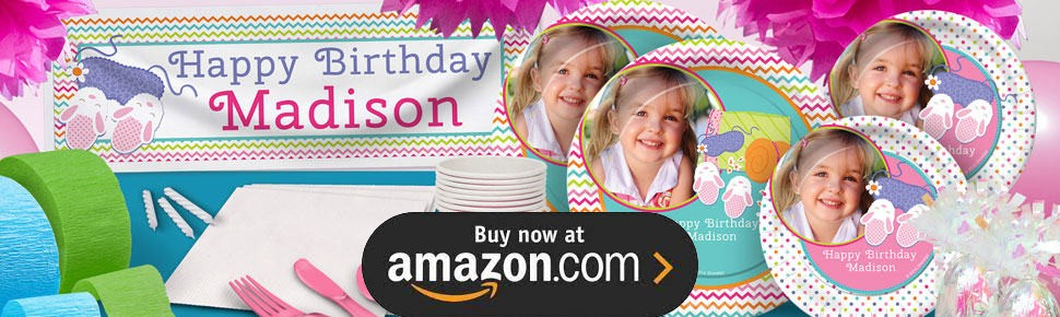Slumber Party Birthday Party Supplies