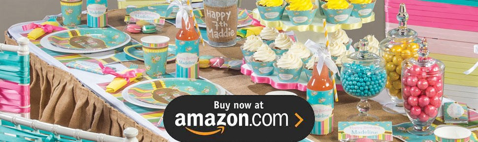 Sugar and Spice Party Supplies