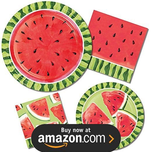 Summer Watermelon Party Supplies