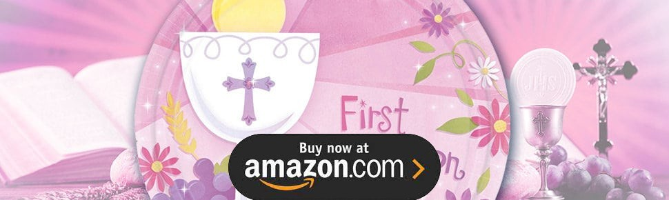 Sweet Christening Girl Party Supplies