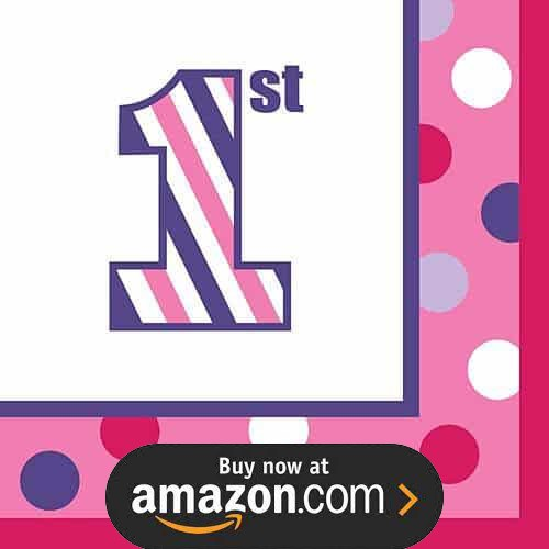 Sweet Stripes Girl Party Supplies
