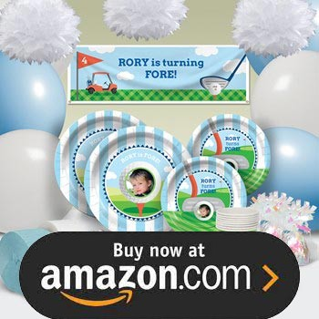 Tee Time Blue Party Supplies