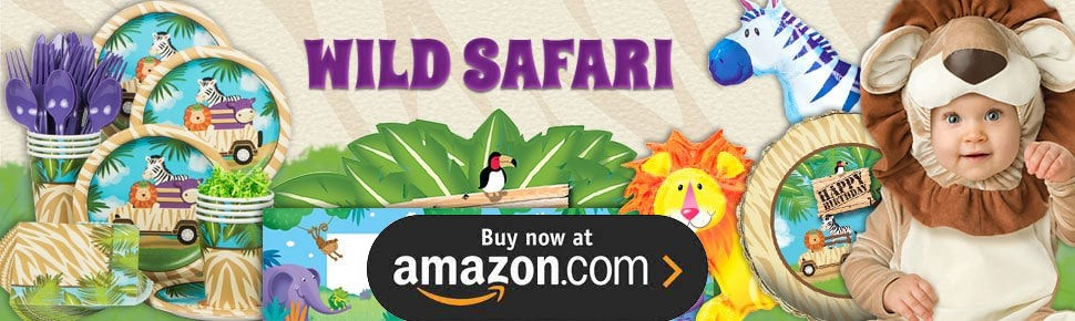 Wild Safari Party Supplies